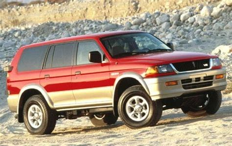 mitsubishi montero sport 1997 1999 mitsubishi montero sport information and photos