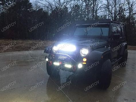 Led Light Bar Jeep Wrangler 20 Quot 120w High Power Led Light Bar Kit For Jeep Wrangler Jk
