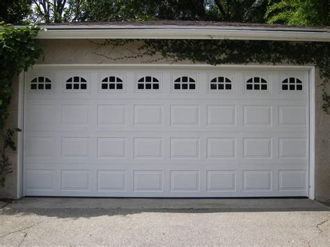 Garage Door Master 1 Panels Garage Door With Windows Yelp