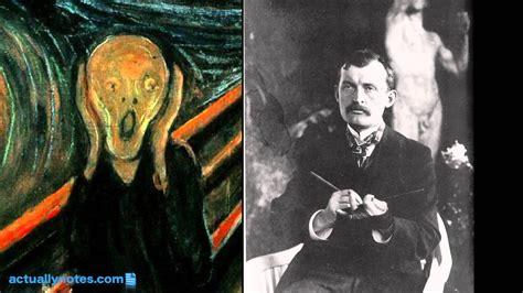 libro el grito de la el grito explicaci 243 n del cuadro de edvard munch youtube