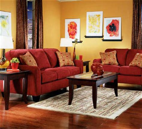 living room with red couch pictures life thoughts