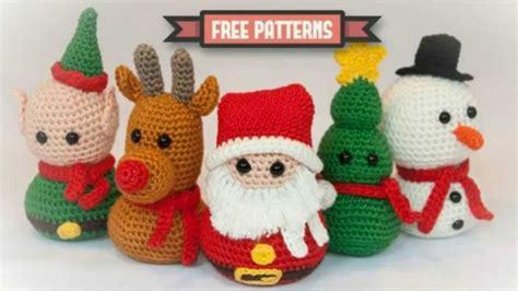 tejidos crochet navideos 2 186 video de ideas pra navidad tejidas a crochet youtube