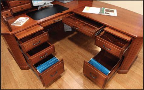 Corner Roll Top Desk Fifth Avenue Executive Corner Roll Top Desk With Hutch Ohio Hardwood Furniture