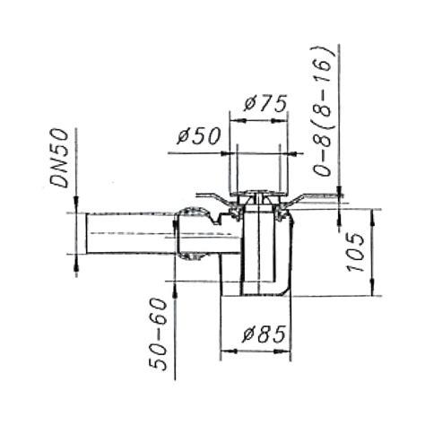 bodenablauf für dusche 2050 dusche siphon flach genial flach siphon dusche und beste