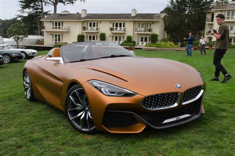 4 20 2017 macbeth today we re beginning our study of first live photos of bmw concept z4 at pebble beach
