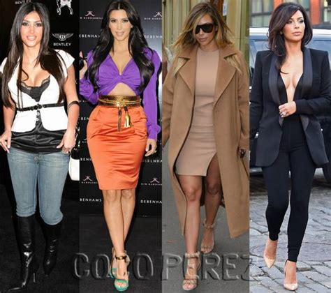kim kardashian and style before and after kanye west kim kardashian s looks before and after kanye see the
