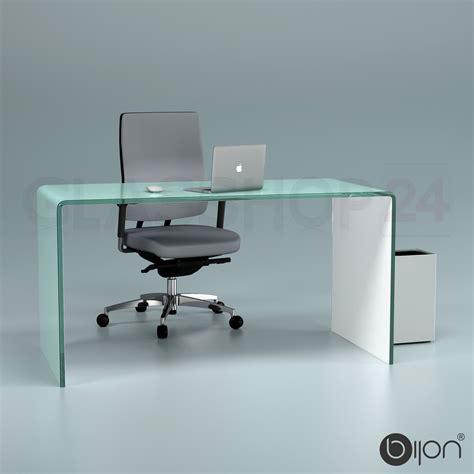 glas schreibtisch design glas schreibtisch haus ideen