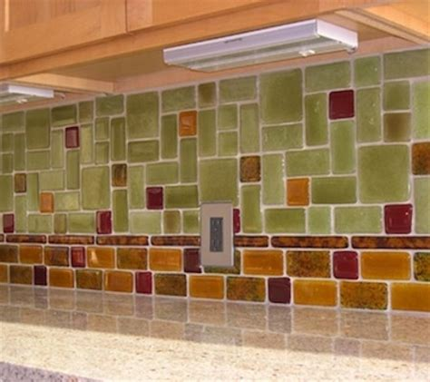 recycled glass backsplash tile discover and save creative ideas