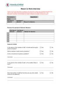Back To Work Template by Best Photos Of Generic Return Policy Template Return To