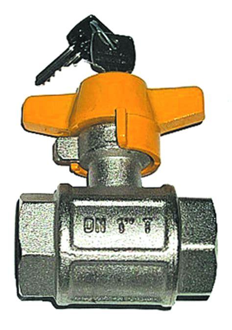 rubinetti per gas rubinetto a sfera in ottone per gas ff con chiusura a