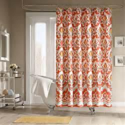 Home bath shower curtains