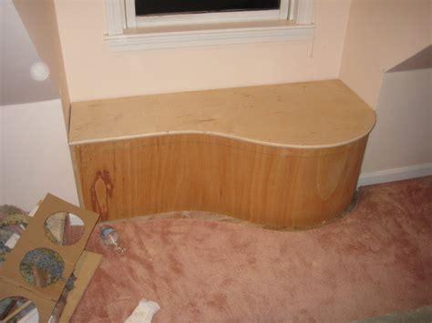 curved window seat curved window seat by oi2342001 lumberjocks