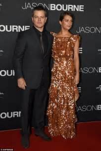 Carpet The Bourne Ultimatum Premiere La by Matt Damon S Preparation For Jason Bourne Included