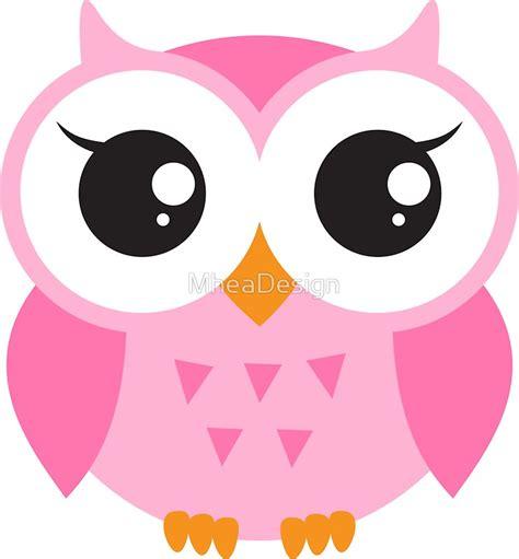 Stiker Burung Pengisap Bunga Sticker Laptop quot pink baby owl sticker quot stickers by mheadesign redbubble