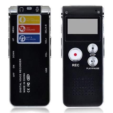 New Usb Digital Voice Recorder 8gb Mp3 Handy Perekam Suara rechargeable 4gb 8gb digital voice recorder dictaphone usb