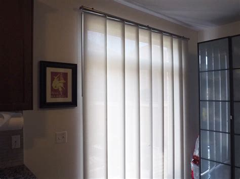 patio door panel track blinds for patio doors
