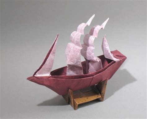 How To Make Ship From Paper - origami step by step by robert harbin book review gilad