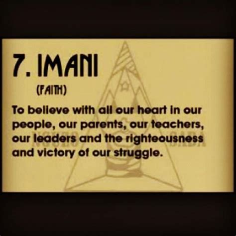 happy kwanzaa day 7 imani faith