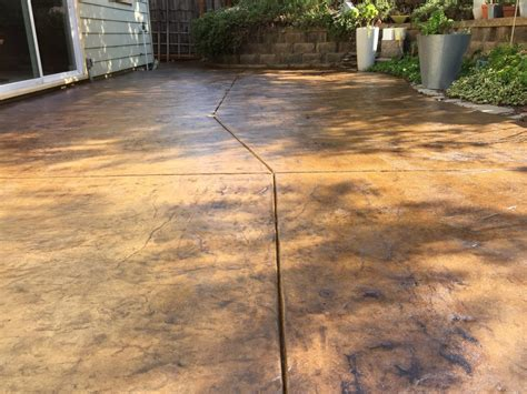 Best Concrete Sealer For Patio by Concrete Stain And Sealer Patio Makeover Cheng Concrete