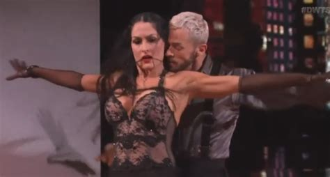nikki bella necklace nikki bella does fifty shades inspired dance on dwts