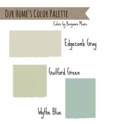 Benjamin Moore Color Of The Year 2012 House Colors Edgecomb Gray Wythe Blue And Guilford