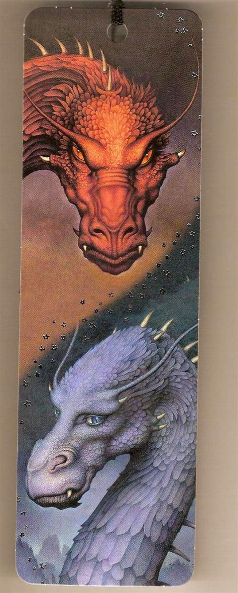 printable eragon bookmark red and blue eragon dragons bookmark bookmarks i am
