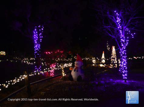 heritage park christmas lights prescott arizona quot everybody s hometown quot top ten travel
