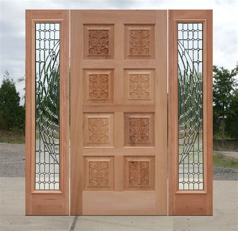 Carved Exterior Doors Carved Exterior Door Clearance