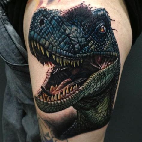 55 coolest jurassic park tattoos designs amp ideas picsmine