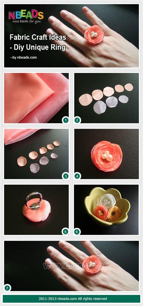 fabric crafts unique fabric craft ideas diy unique ring pictures photos and