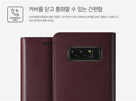 Verus Galaxy Note 8 Genuine Leather Navy verus genuine leather diary for samsung galaxy note8