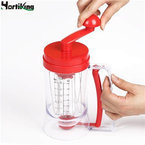 Manual Pancake Machine Cake Batter Mix Dispenser Ala Limited popular cup cake batter buy cheap cup cake batter lots