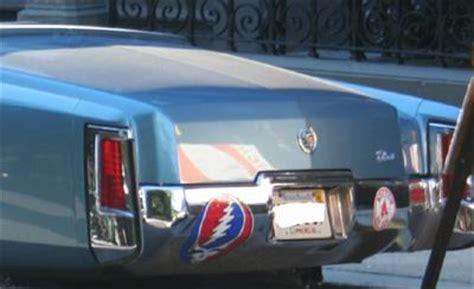 Saw A Deadhead Sticker On A Cadillac