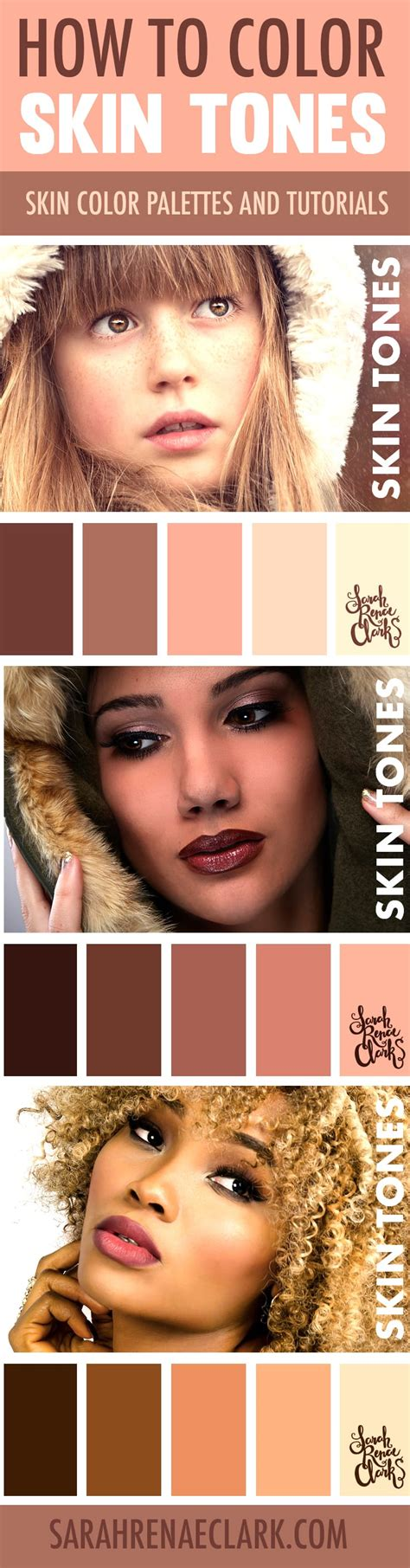 how to color skin how to color skin tones 10 tutorials on skin