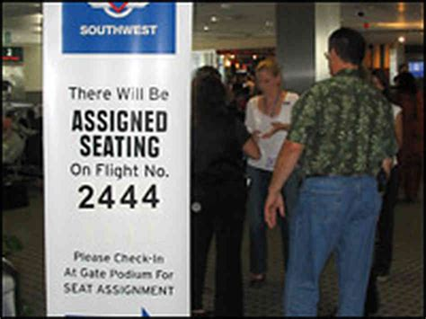southwest airlines assigned seats southwest gets on board with assigned seating npr