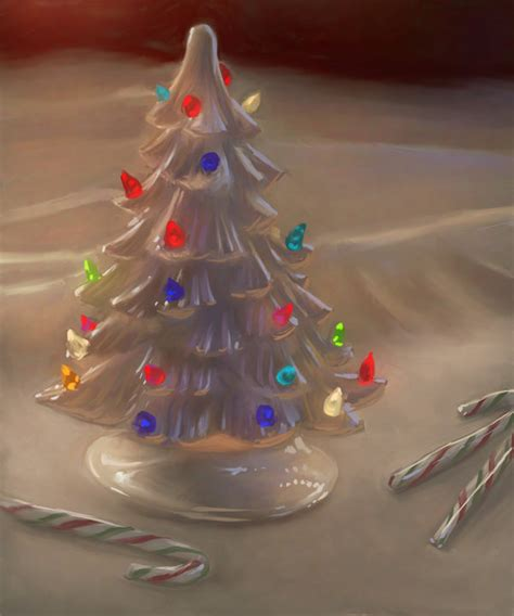 how to paint a ceramic christmas tree friday painting ceramic tree by jermilex on deviantart