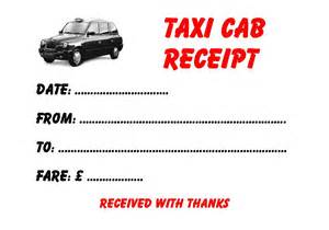 Nyc Taxi Receipt Template 5 Taxi Minicab Receipt Pads 5 Different Designs Ebay