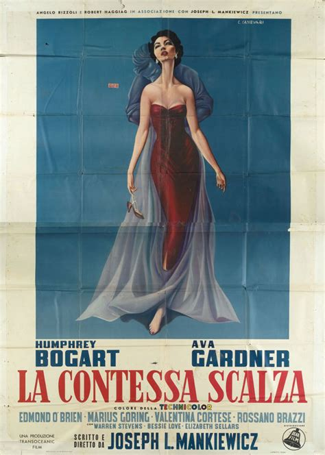 who is the barefoot contessa movie poster of the week the films of joseph l