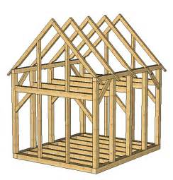 timber frame shed design shed plans package