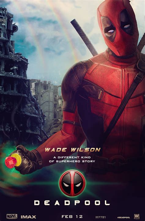 deadpool poster punch deadpool poster concept mocking green