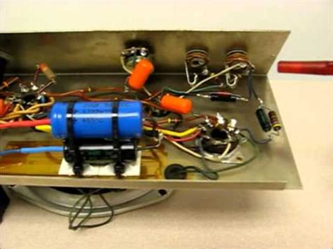 replacing capacitors with higher capacitance replacing electrolytic capacitors and power cable in 1959 gibson ga 5
