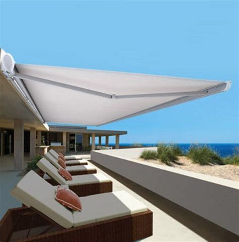 retractable folding arm awnings best 25 deck awnings ideas on pinterest