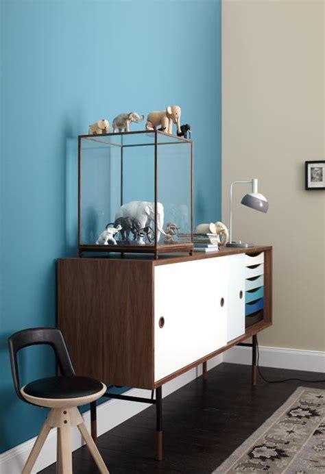 schöner wohnen lackfarbe wohnen mit farben wand in blau und beige bild 4 sch ner