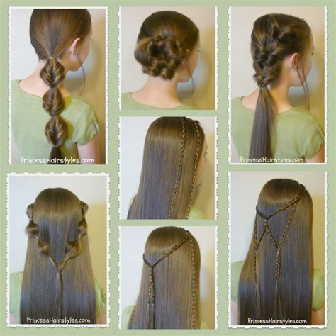 hairstyles hair easy 7 easy hairstyles part 2 hairstyles for
