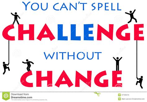 Challenge Of Change change illustrations vector stock images