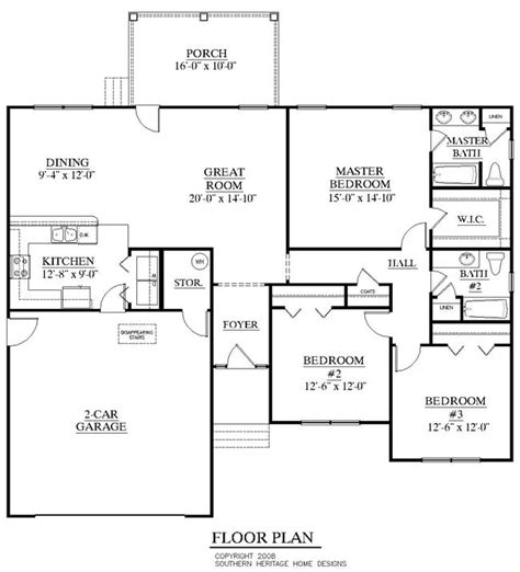 southern heritage home designs duplex plan 1261 a 28 house plans by southern heritage southern