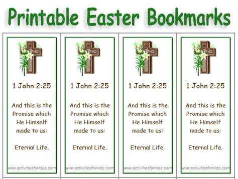Printable Religious Easter Bookmarks | religious quotes free printable bookmark quotesgram