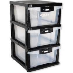 plastic storage drawers shelf 3 levels with slide out