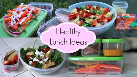 healthy lunch ideas for school quick and easy youtube