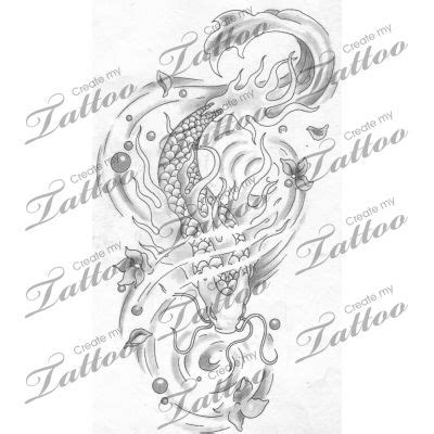 tattoo design marketplace marketplace tattoo koi fish 4831 createmytattoo com 3